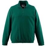 St. Monica Uniform Fleece Green (Quarter Zip) - 6th to 8th