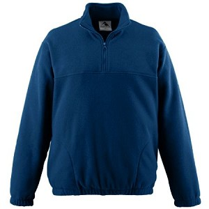 St. Monica Uniform Fleece Blue (Quarter Zip) - Pre-K to 5th