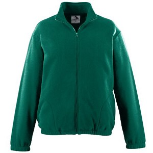 St. Monica Uniform Fleece Green (Full Zip) - 6th to 8th