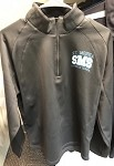 St. Monica Gray Athletic 1/4 Zip (Adult Sizes Only)
